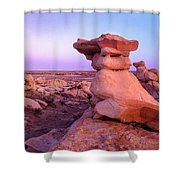 Rock Formations, Bisti Badlands, New Shower Curtain