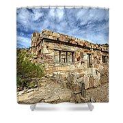 Rock House Shower Curtain