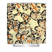 Rocking Old England Shower Curtain