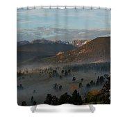 Rocky Mountain National Park - 2246-2 Shower Curtain