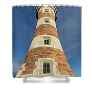 Roker Lighthouse 1 Shower Curtain