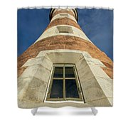 Roker Lighthouse 3 Shower Curtain