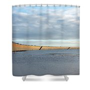 Roker Pier 2 Shower Curtain
