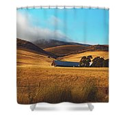 Rolling Hills Of California Shower Curtain