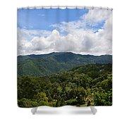 Rolling Hills, Open Sky Shower Curtain