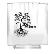 Roots In Tn Shower Curtain