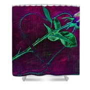 Roped Heart Shower Curtain