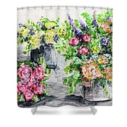 Rose Bundles Shower Curtain