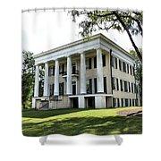 Rose Hill Mansion - Milledgeville, Georgia 4 Shower Curtain