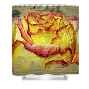 Rose Painting Shower Curtain
