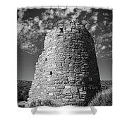 Round Tower Shower Curtain