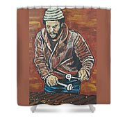 Roy Ayers Shower Curtain