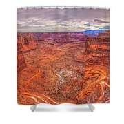 Rugged Trails Shower Curtain