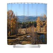 Rural Montana Shower Curtain