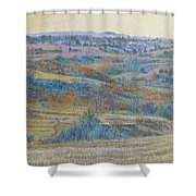 Russet Ridge Reverie Shower Curtain