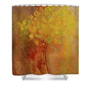 Rustic Still Life Shower Curtain by Valerie Anne Kelly
