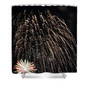 Saint Louis Riverfront 4th Of July Shower Curtain