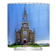 Saint Peter's Catholic Church Shower Curtain