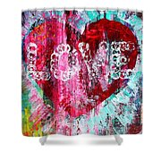 Saint Valentines Day Shower Curtain