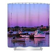 Sakonnet Point Boats Shower Curtain