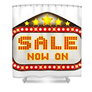 Sale Theatre Marquee Shower Curtain