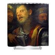 Samson Captured By The Philistines Shower Curtain