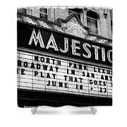 San Antonio Majestic Theatre Shower Curtain