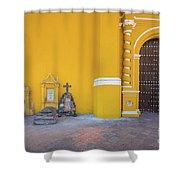 San Gabriel Tombs Shower Curtain