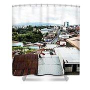 San Jose Costa Rica Shower Curtain