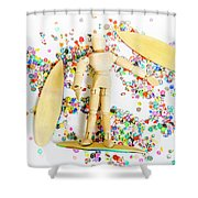 Sandalwood Seas Shower Curtain