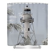 Sanibel Lighthouse Shower Curtain