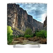 Santa Elena Canyon Shower Curtain