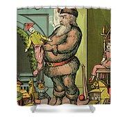 Santa Toys Shower Curtain