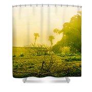Sapa Landscape, Vietnam Shower Curtain