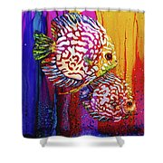 Sassy Sea Sisters Shower Curtain