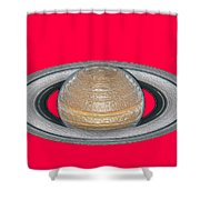 Saturnian Image 2 Shower Curtain