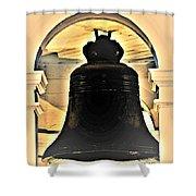 Savannah Exchange Bell Shower Curtain