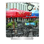Savannah Join Us Out Here Shower Curtain