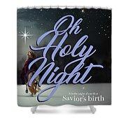 Savior's Birth Shower Curtain