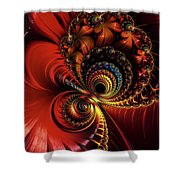 Scarlet O'hare. Shower Curtain
