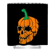 Scary Pregnant Halloween Design  Shower Curtain