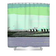 Scene From 540 Shower Curtain