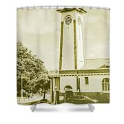 Scenes From Old Sandgate Shower Curtain