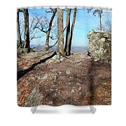Scenic Horizon View Shower Curtain
