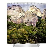 Scenic Zion - Mount Carmel Highway Drive 4 Shower Curtain
