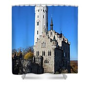 Schloss Lichtenstein Shower Curtain