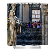 Scholastica Shower Curtain