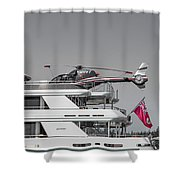 Sea And Air Turks And Caicos Shower Curtain