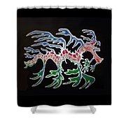 Sea Dragon Shower Curtain