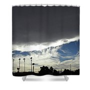 Sea Of Darkness 2 Shower Curtain